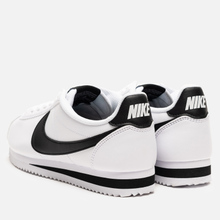 Женские кроссовки Nike Classic Cortez Leather White/Black/White фото- 2