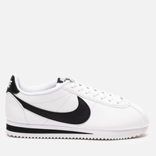Женские кроссовки Nike Classic Cortez Leather White/Black/White фото- 3