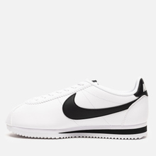 Женские кроссовки Nike Classic Cortez Leather White/Black/White фото- 5