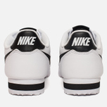 Женские кроссовки Nike Classic Cortez Leather White/Black/White фото- 3