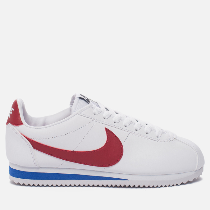 Женские кроссовки Nike Classic Cortez Leather White/Varsity Red/Varsity Royal