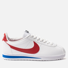 Женские кроссовки Nike Classic Cortez Leather White/Varsity Red/Varsity Royal фото- 3
