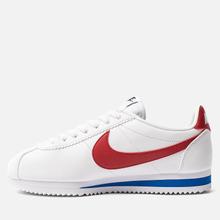 Женские кроссовки Nike Classic Cortez Leather White/Varsity Red/Varsity Royal фото- 5