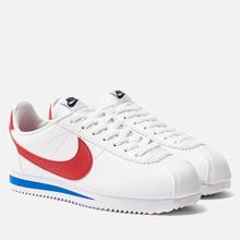 Женские кроссовки Nike Classic Cortez Leather White/Varsity Red/Varsity Royal фото- 0