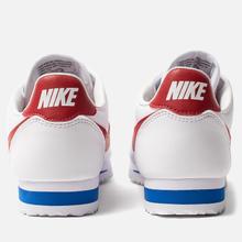 Женские кроссовки Nike Classic Cortez Leather White/Varsity Red/Varsity Royal фото- 2