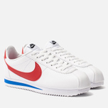 Женские кроссовки Nike Classic Cortez Leather White/Varsity Red/Varsity Royal фото- 5