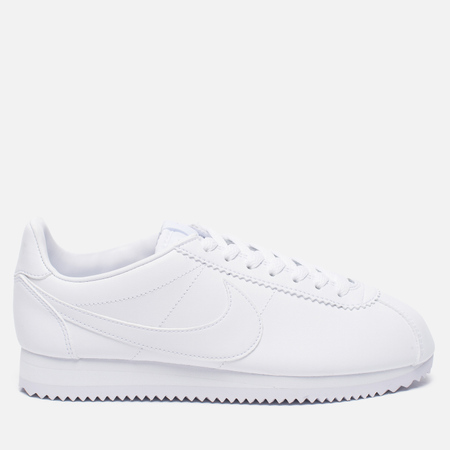 Женские кроссовки Nike Classic Cortez Leather White/White