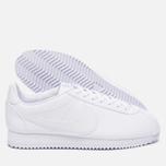 Женские кроссовки Nike Classic Cortez Leather White/White фото- 1