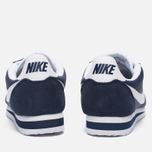 Женские кроссовки Nike Classic Cortez Nylon Obsidian/White фото- 3