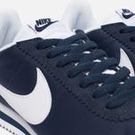 Женские кроссовки Nike Classic Cortez Nylon Obsidian/White фото- 5