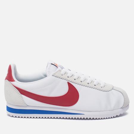 Женские кроссовки Nike Classic Cortez Nylon Premium White/Varsity Red/Varsity Royal