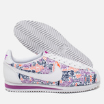 Женские кроссовки Nike Cortez Classic Print White/Dark Purple Dust/Total Crimson фото- 2