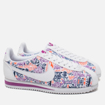 Женские кроссовки Nike Cortez Classic Print White/Dark Purple Dust/Total Crimson фото- 1