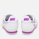 Женские кроссовки Nike Cortez Classic Print White/Dark Purple Dust/Total Crimson фото- 3