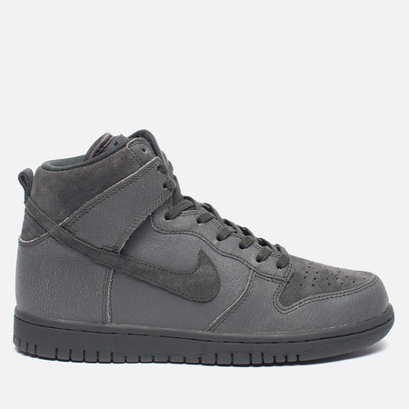 Женские кроссовки Nike Dunk High Premium Midnight Fog/Matte Silver
