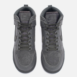 Женские кроссовки Nike Dunk High Premium Midnight Fog/Matte Silver фото- 4