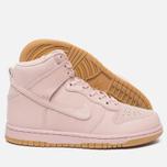 Женские кроссовки Nike Dunk High Premium Pink Oxford/Bright Melon фото- 2