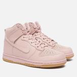 Женские кроссовки Nike Dunk High Premium Pink Oxford/Bright Melon фото- 1