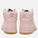 Женские кроссовки Nike Dunk High Premium Pink Oxford/Bright Melon фото- 3