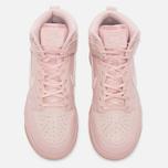 Женские кроссовки Nike Dunk High Premium Pink Oxford/Bright Melon фото- 4