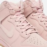 Женские кроссовки Nike Dunk High Premium Pink Oxford/Bright Melon фото- 5
