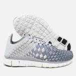 Nike Free Inneva Woven Women's Sneakers Pure Platinum/Wolf Grey photo- 2