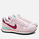 Женские кроссовки Nike Internationalist Pearl Pink/Noble Red/Hyper Turq фото- 1