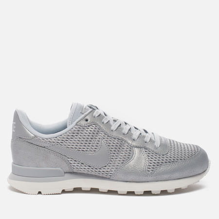 Женские кроссовки Nike Internationalist Premium Metallic Platinum/Sail/Pure Platinum