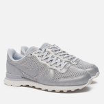 Женские кроссовки Nike Internationalist Premium Metallic Platinum/Sail/Pure Platinum фото- 1