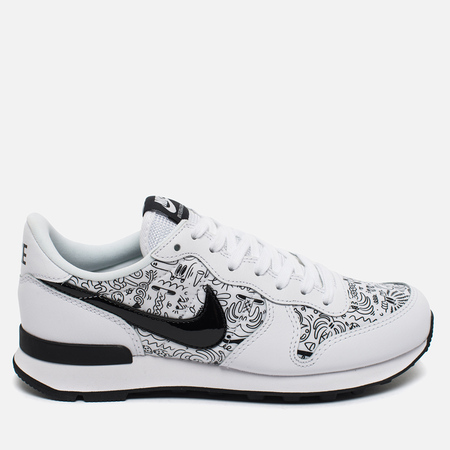 Женские кроссовки Nike Internationalist Print White/Black