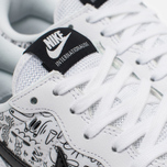 Женские кроссовки Nike Internationalist Print White/Black фото- 5