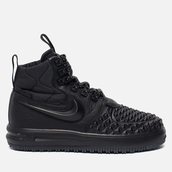 Женские кроссовки Nike Lunar Force 1 Duckboot '17 Black/Black/White