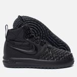 Женские кроссовки Nike Lunar Force 1 Duckboot '17 Black/Black/White фото- 2
