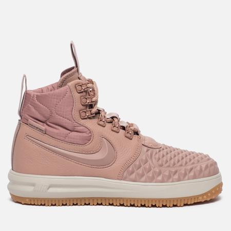 Женские кроссовки Nike Lunar Force 1 Duckboot Particle Pink/Particle Pink/Black
