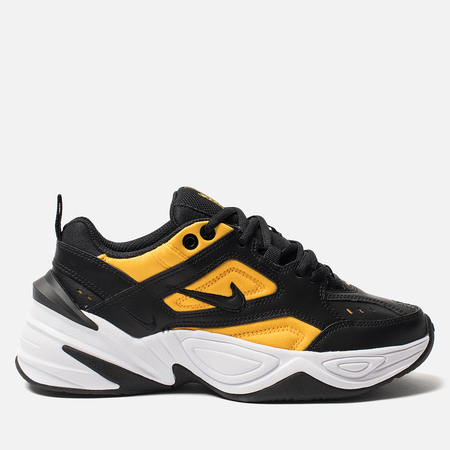 Женские кроссовки Nike M2K Tekno Black/Black/University Gold/White