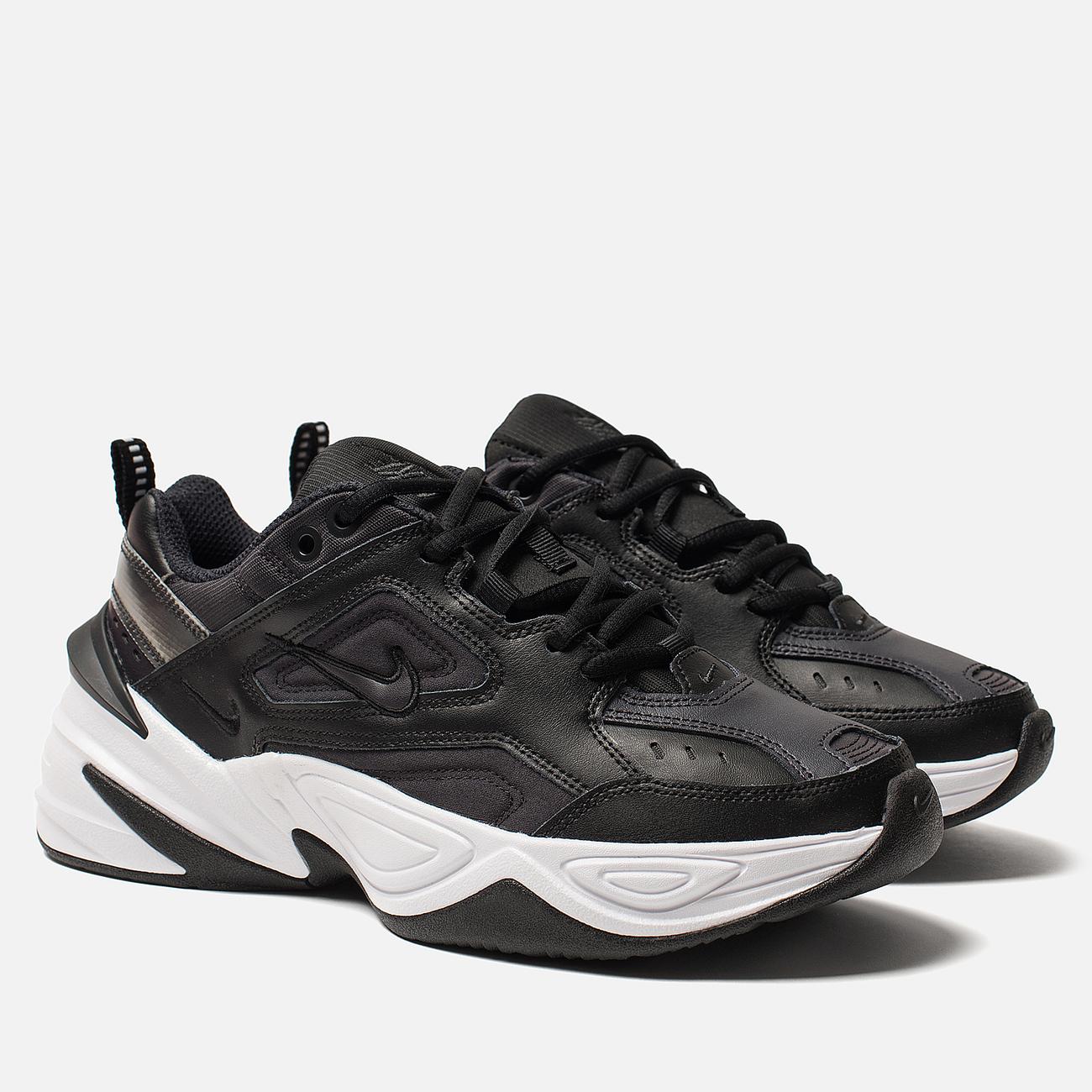 Женские кроссовки Nike M2K Tekno Black/Oil Grey/White