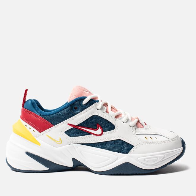 Женские кроссовки Nike M2K Tekno Blue Force/Summit White/Chrome Yellow