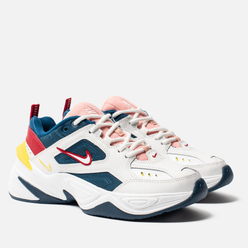 Женские кроссовки Nike M2K Tekno Blue Force/Summit White/Chrome Yellow