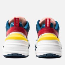 Женские кроссовки Nike M2K Tekno Blue Force/Summit White/Chrome Yellow фото- 2