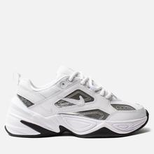 Женские кроссовки Nike M2K Tekno Essential White/White/Metallic Silver/Black фото- 3