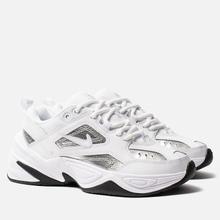 Женские кроссовки Nike M2K Tekno Essential White/White/Metallic Silver/Black фото- 0