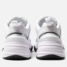Женские кроссовки Nike M2K Tekno Essential White/White/Metallic Silver/Black фото- 2