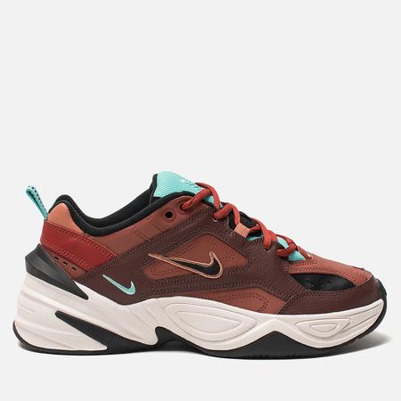 Женские кроссовки Nike M2K Tekno Mahogany Mink/Black/Burnt Orange
