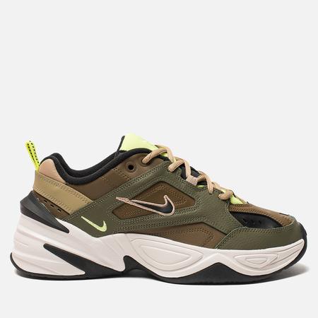 Женские кроссовки Nike M2K Tekno Medium Olive/Black/Yukon Brown