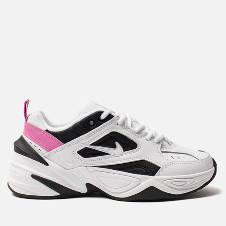 Женские кроссовки Nike M2K Tekno White/White/China Rose/Black