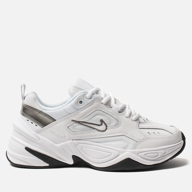 Женские кроссовки Nike M2K Tekno White/White/Cool Grey/Black