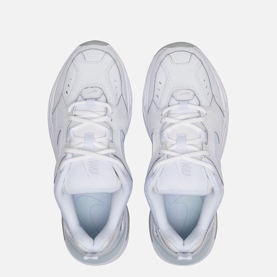Женские кроссовки Nike M2K Tekno White/White/Pure Platinum