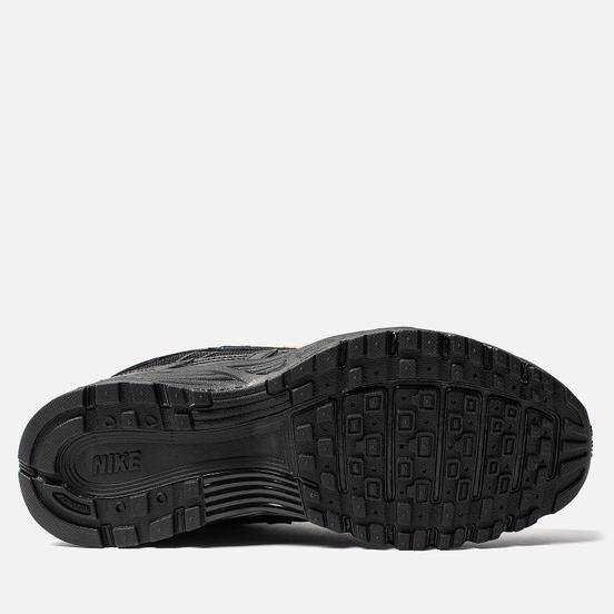 Женские кроссовки Nike P-6000 Essential Black/Metallic Gold/Off Noir