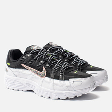 Женские кроссовки Nike P-6000 SE Black/Multi-Color/White/Coral Stardust фото- 0