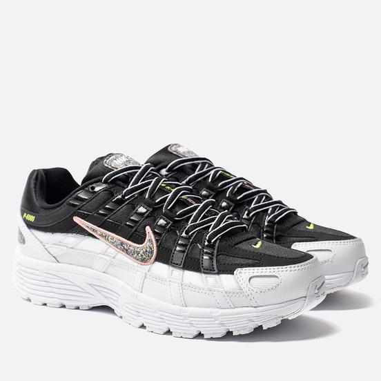 Женские кроссовки Nike P-6000 SE Black/Multi-Color/White/Coral Stardust